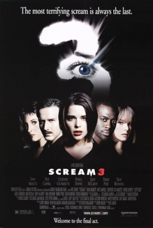 Scream 3 movie poster